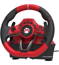 Nintendo volante de carreras con pedales hori mario kart pro deluxe - botones progra vol switch mkpd - HRI-VOL SWITCH MKPD