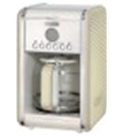 Cafetera de goteo Ariete vintage beige - 2000w - 4-12 tazas - jarra vidrio 1342/03 - 8003705114135