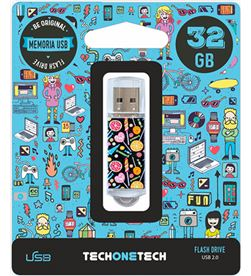 Candy pendrive tech one tech pop 32gb usb 2.0 TEC4001-32 - 8436546592105
