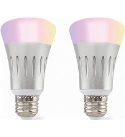 Todoelectro.es pack 2 bombillas inteligentes muvit io miopak003 - wifi - 5w - e27 - 750lm - MUV-BOM MIOPAK003