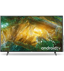 Lcd led 75'' Sony KD75XH8096 4k hdr x-reality pro processor x1, android tv - KD75XH8096