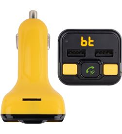 Transmisor fm bluetooth para coche Ngs spark curry bt - 206 canales - 2*usb SPARKBTCURRY - NGS-MP3 CAR SPARKCURRYBT