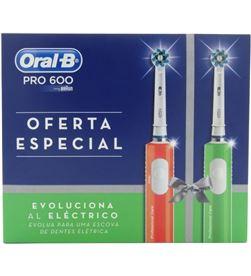 Cepillo dental Braun pro 600 duplo xmas PRO600XMAS - 4210201333319