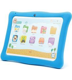 Innjoo tablet infantil k102 blanca con marco protector azul - qc - 1gb ram IJ-K102-FAZUL - 6928978216558