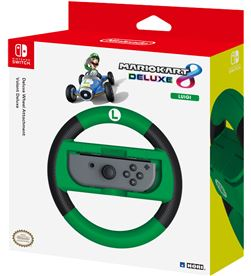 Volante hori mario kart 8 deluxe luigi para Nintendo switch - revestimiento VOL MK8DLL - HRI-VOL MK8DLL