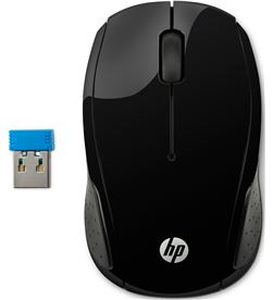 Hp X6W31AA ratón inalámbrico 200 negro - 2.4ghz - 1000ppp - led rojo - nano recepto - HPA-MOU X6W31AA