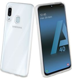 Carcasa muvit cristal soft transaparente para Samsung galaxy a40 - flexible MUCRS0226 - MUV-CARCASA MUCRS0226