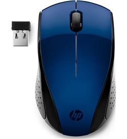 Hp 7KX11AA ratón inalámbrico 220 lumiere blue - 2.4ghz - 1200ppp - 3 botones - led - HPA-MOU 7KX11AA