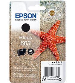 Epson C13T03U14010 cartucho tinta negro 603 - 3.4ml - estrella mar - EPS-C13T03U14010