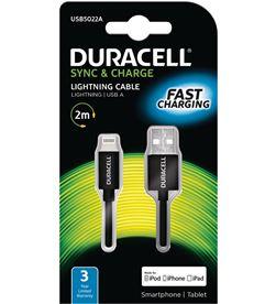 Cable Duracell USB5022A usb-lightning - para carga y sincronización - 2 met - DRC-CABLE USB5022A