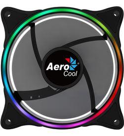 Ventilador Aerocool eclipse 12 - 12cm - anillo led rgb dual slim - almohadi ECLIPSE12 - AER-REF ECLIPSE12