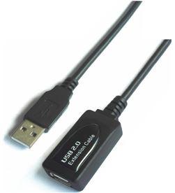 Cable alargador usb con amplificador Aisens A101-0018 - conectores tipo-a m - AIS-CAB A101-0018