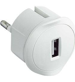 Todoelectro.es adaptador cargador usb legrand 050680 - blanco - LEG-USB 050680E