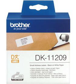 Etiquetas precortadas térmicas Brother DK11209 - 29 x 62mm - para 800 eti - BRO-ETI TERM DK11209