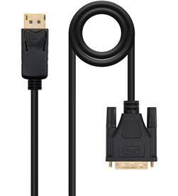 Todoelectro.es cable displayport a dvi nanocable 10.15.4502 - displayport/macho - dvi/mach - NAN-CAB 10 15 4502