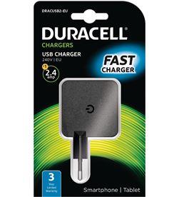 Duracell DRC-CARGA USB 4A cargador de pared dracusb2-eu - 1xusb - 5v - 2.4a - DRC-CARGA USB 4A
