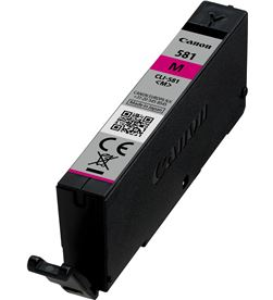 Cartucho tinta magenta Canon cli-581m - 237 páginas - compatible según espe 2104C001 - CAN-CLI-581M
