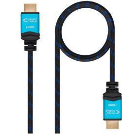 Todoelectro.es cable hdmi nanocable 10.15.3705 - v2.0 - conectores hdmi (tipo a) macho - m - NAN-CAB 10 15 3705