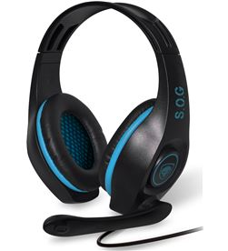Auriculares con micrófono spirit of gamer pro-h5 blue edition - dRivers 4 MIC-G715BL - MIC-G715BL