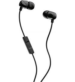 SkullCandy JIB BLACK auriculares de botón in-ear con cable y micrófono - 0878615091382