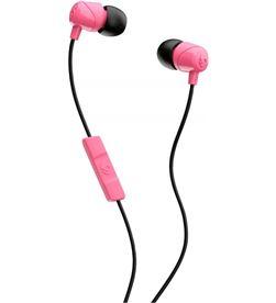 SkullCandy jib rosa negro auriculares de botón in-ear con cable y micrófono JIB PINK BLACK - 0878615091412