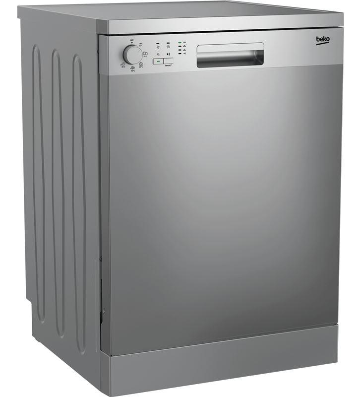 Lavavajillas Beko DFN05321X 13 servicios 5 programas 49 db clase a++ acero - BEKDFN05321X