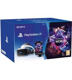 Sony playstation vr mk4 + cámara + vr world 9782414 - 0711719947264
