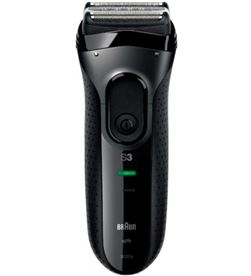 Braun 3020S NEGRA afeitadora eléctrica serie 3 3020s lavable bajo el grifo negra - 0421021147657