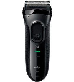 Braun afeitadora eléctrica serie 3 3020s lavable bajo el grifo negra 3020S NEGRA - 0421021147657
