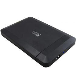 Caja externa 3go para discos duros screwless HDD25BK315 - 2.5''/6.35cm - usb - 8436531556594