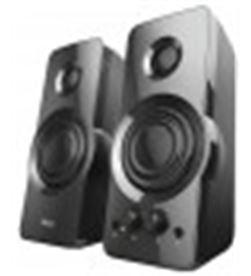 Trust 23695 altavoces 2.0 orión - 36w (18w rms) - control frontal bajos y volumen - 8713439236958