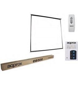 Approx P240E pantalla de proyeccion electrica appp240 240 x 240 - apta pared y te - APPP240E