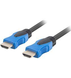 Todoelectro.es cable hdmi lanberg ca-hdmi-20cu-0200-bk - conectores macho/macho chapados e - CA-HDMI-20CU-0200-BK