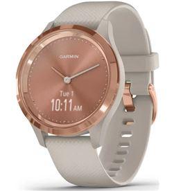 Garmin VIVOMOVE 3S ROS vivomove 3s oro rosa tundra silicona reloj inteligente 39mm híbrido - GAR010_02238_02
