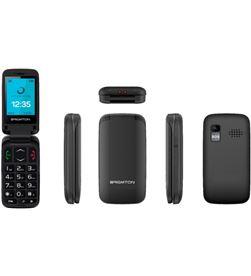 Teléfono libre senior Brigmton btm 5 flip bluetooth cámara radio fm manos l BTM5FLIP - 8425081019550-0