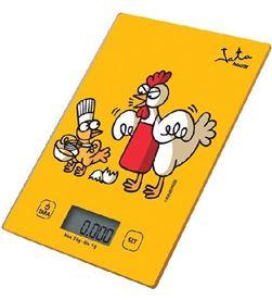 Jata 731K báscula de cocina kukuxumusu - capacidad 5kg - graduación 1g - 8436584381044