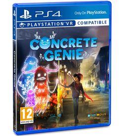 Juego para consola Sony ps4 concrete genie 9755111 - SONY-PS4-J CON GENIE