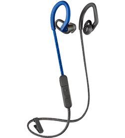 Auriculares deportivos Plantronics backbeat fit 350 grey blue - drivers 6mm 212345-99 - PLAN-AUR 212345-99