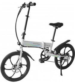 Bicicleta eléctrica Woxter smartgyro ebike crosscity white - motor brushles SG27-167 - 8435089031058