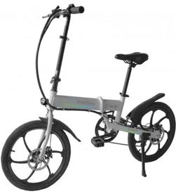 Bicicleta eléctrica Woxter smartgyro ebike crosscity silver - motor brushle SG27-166 - 8435089031041