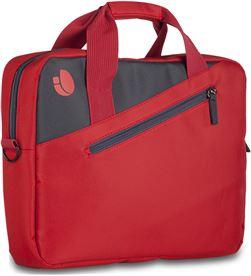 Ngs maletín monray ginger red - para portátiles hasta 15.6''/39.6cm - nylon gingerred - MONR-MAL GINGER RED