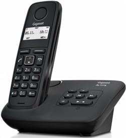Siemens AL117A teléfono dect gigaset - agenda 50 registros - indentificacion llamad - SIEM-GIGA AL117A