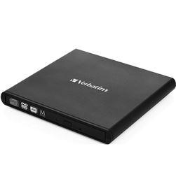 Verbatim 98938 grabadora externa cd/dvd slimline black - cd 24x - dvd 8x - - VERB-DVD 098938