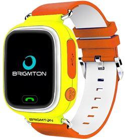 Smartwatch Brigmton bwatch kids localizador gps sim amarillo BWATCHKIDSY - 8425081019109