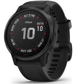 Garmin FÉNIX 6S PRO NE gro con correa negra 42mm smartwatch premium multidep - +21229