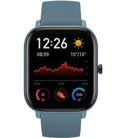 Xiaomi reloj inteligente huami amazfit gts steel blue - pantalla 1.65''/4.19cm - bt w1914ov4n - HMI-RELOJ GTS SBLUE
