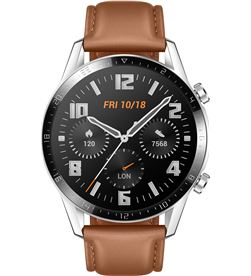 Reloj inteligente Huawei gt2 classic 46mm pebble brown - pantalla 3.53cm am 55024317 - 55024317