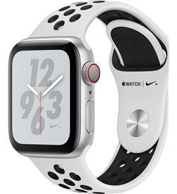 Applewatch nike series4 gpscellular 40mm caja aluminio plata con correa MTX62TY/A - APL-WATCH S4 MTX62TYA