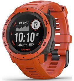 Garmin INSTINCT FLAME red 45mm smartwatch resistente gnss gps ant+ bluetoot - +22044