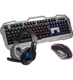 Ngs GBX-1500 pack gaming - teclado rgb usb - ratón óptico 2400dpi usb - - NGS-PACK GBX-1500